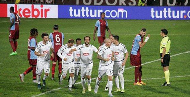 Trabzonspor: 1 - Konyaspor: 2