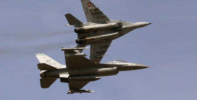 TSK: Sekiz F-16 uçağımız Suriye sınırında taciz edildi