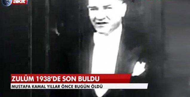 Akit'ten tepki çeken Atatürk yayını
