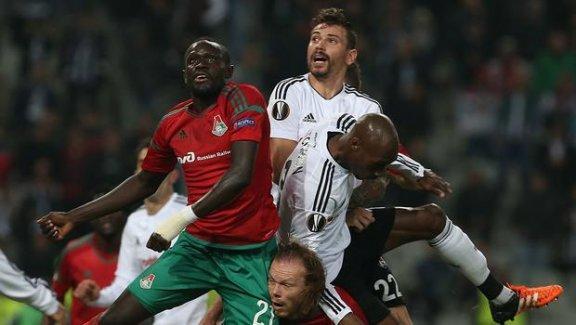 Beşiktaş, Lokomotiv Moskova'yı deviremedi