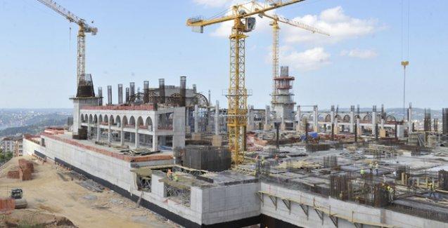 Büyük Çamlıca Camii inşaatında iş cinayeti