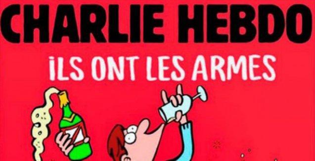 Charlie Hebdo'dan Paris Katliamı kapağı