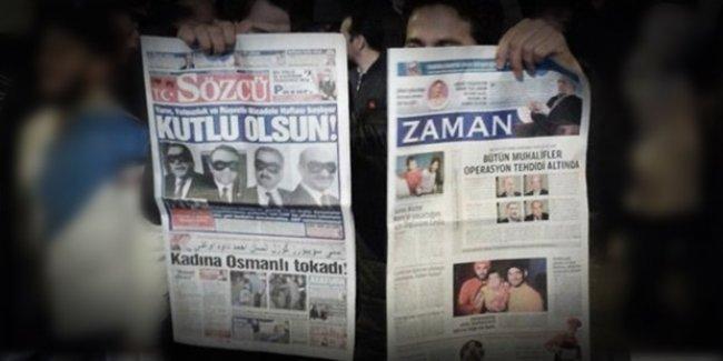 Davutoğlu'nun 'kırmızı çizgili' basın özgürlüğü: G20 zirvesi için Sözcü ve Zaman'a izin yok