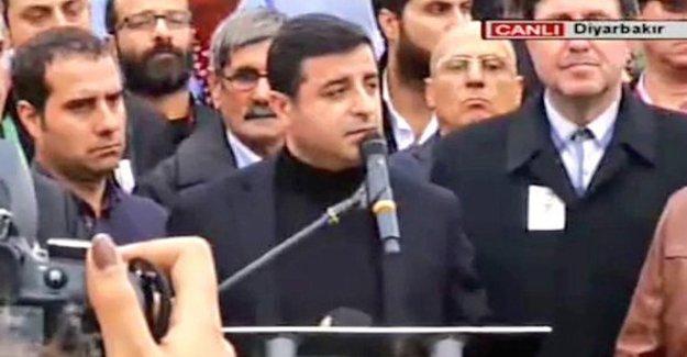 Demirtaş: Tahir'i öldüren devlet değildir, devletsizliktir