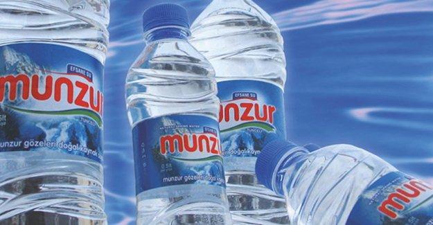 Dersim'deki Munzur Su fabrikası üretime süresiz ara verdi