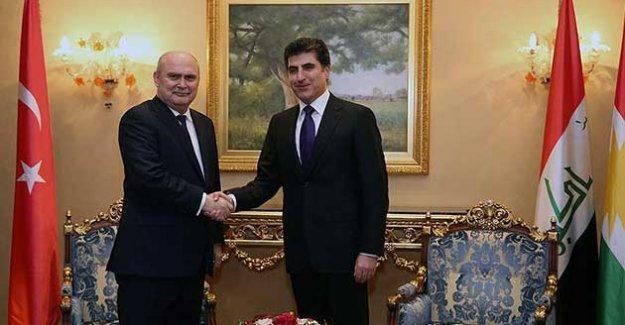 Dışişleri Bakanı Sinirlioğlu Erbil'de