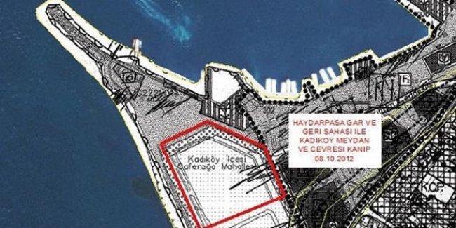 Diyanet'in isteği üzerine Kadıköy rıhtıma cami yapılacak