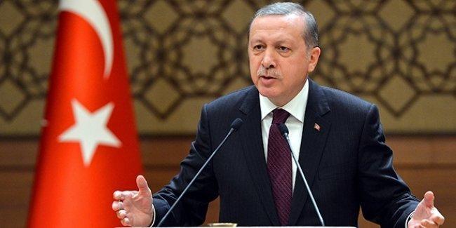 Erdoğan: IŞİD'i değil Türkmenleri vuruyorlar, kimse kimseyi kandırmasın