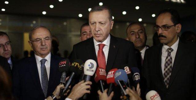 Erdoğan: Fırat'ın batısına kimse geçemez, bu konuda çok kararlıyız