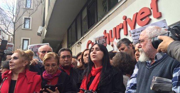 Figen Yüksekdağ: Basının susturulmasına izin vermeyeceğiz