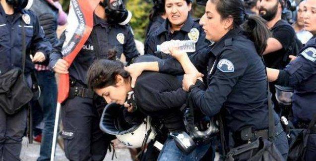 G-20 protestocularına yaka paça gözaltı