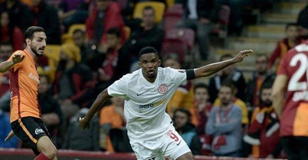 Galatasaray-Antalyaspor maçında 6 gol var