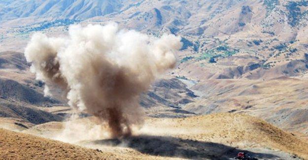 Gaziantep'te 120 ton patlayıcı ele geçirildi