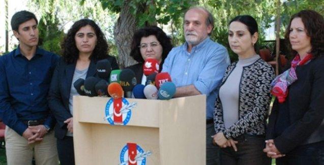 HDP, HDK, DTK ve DBP Eş Başkanları: Ateşkes sürdürülmeli