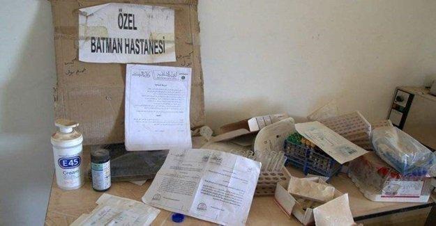 IŞİD binasında Türkiye'deki bir hastanenin malzemeleri bulundu