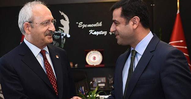 Kılıçdaroğlu'ndan Demirtaş'a geçmiş olsun dileği