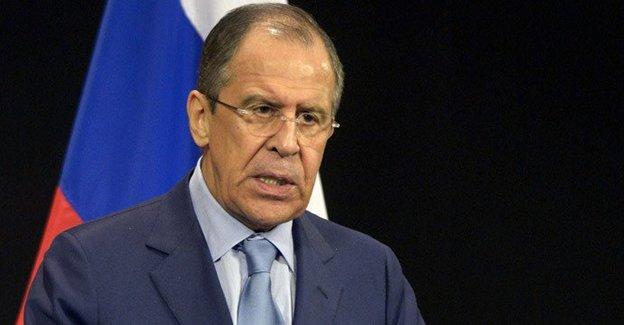 Lavrov: Erdoğan'dan Putin'e telefon gelmedi