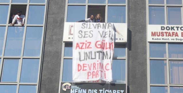 Mersin'de Devrimci Parti üyeleri DHA bürosunu işgal etti