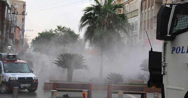 Nusaybin'e destek yürüyüşüne polis saldırısı