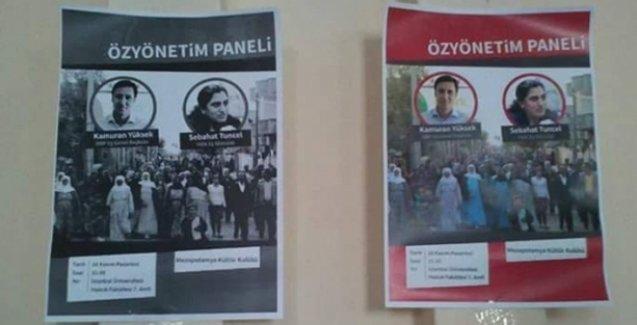 'Özyönetim Paneli'ne engel: Sabahat Tuncel üniversiteye alınmadı