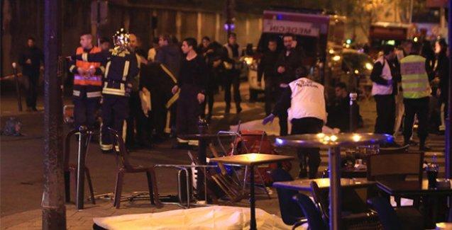 Paris'teki Bataclan Konser Salonu'na saldırı anı kamerada