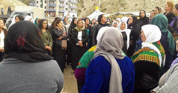 Roboskili kadınlar: Kadına uzanan eler kırılsın