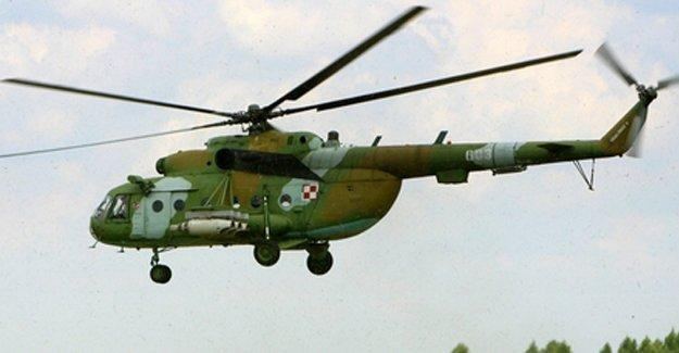 Rus helikopteri düştü: 15 ölü, 10 yaralı
