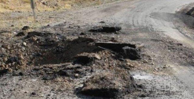Şemdinli'de patlama: 2 çocuk ağır yaralandı
