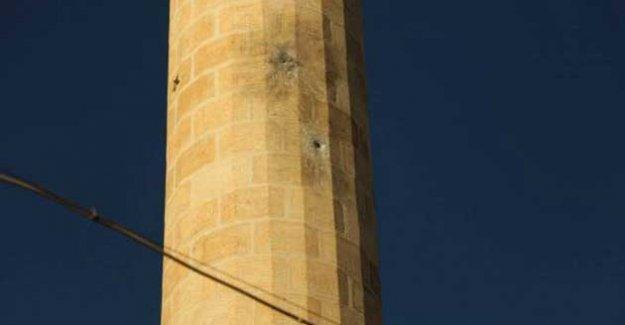 Silvan'da camilere de kurşun ve bomba
