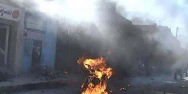 Tel Abyad'da canlı bomba saldırısı