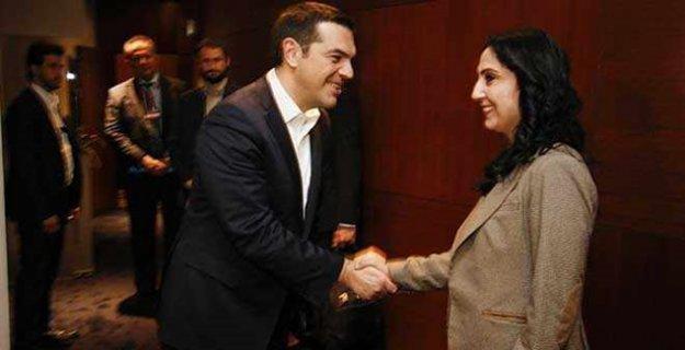 Tsipras'tan HDP'ye: Mücadelenizi hayranlıkla izliyoruz