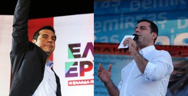 Tsipras Türkiye'ye geliyor, Demirtaş'la görüşecek