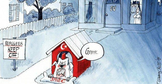 Türkiye, AB'nin 'bekçi köpeği' olarak resmedildi