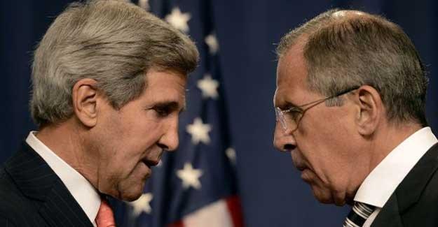 Uçak krizi sürerken Lavrov, Kerry ile görüştü