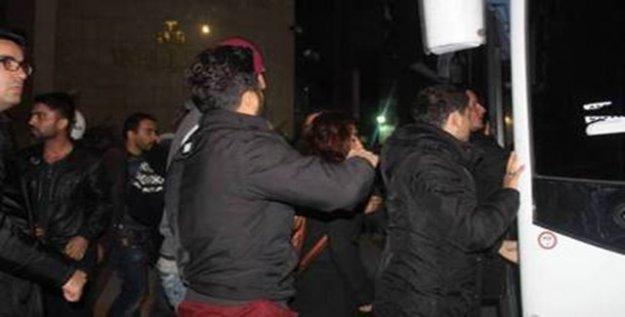 Van'da öğrencilere gözaltı