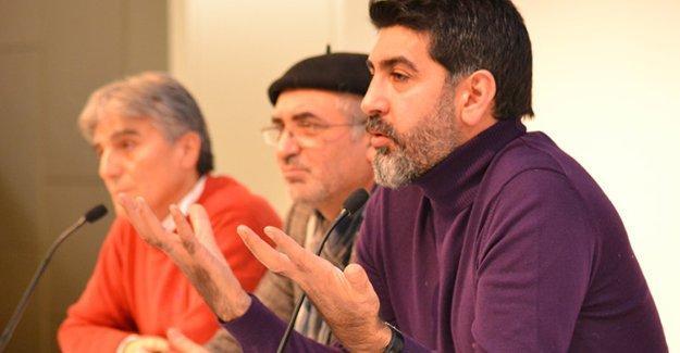 Viyana'da konuşan Levent Gültekin, Türkiye'deki kutuplaşmaya dikkat çekti