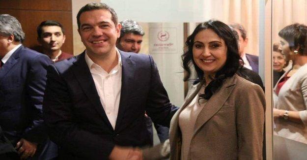 Yüksekdağ: Tsipras'ın hayranlığı Kürt halkının mücadelesine duyulan hayranlıktır