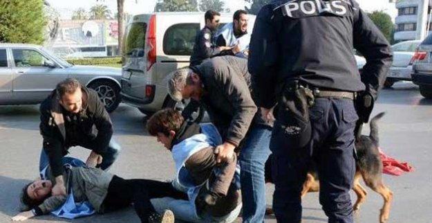 2. ayında Ankara Katliamı'nı ananlara polis müdahalesi