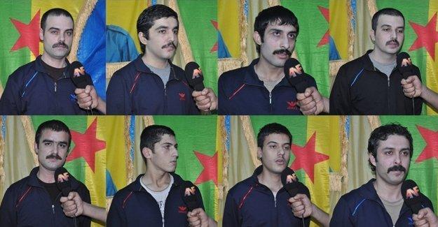 ANF, PKK'nin elindeki 1 polis ve 7 askerle konuştu