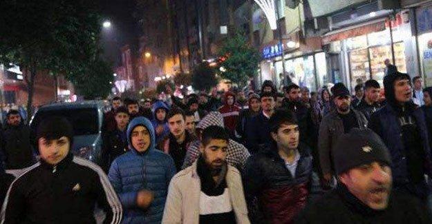 Bağcılar'da Sur için yapılan yürüyüşe polis saldırdı