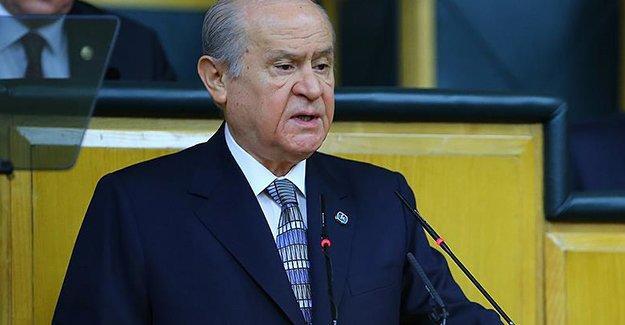 Bahçeli: Türkiye'den Irak'a yardım gitmesi normaldir