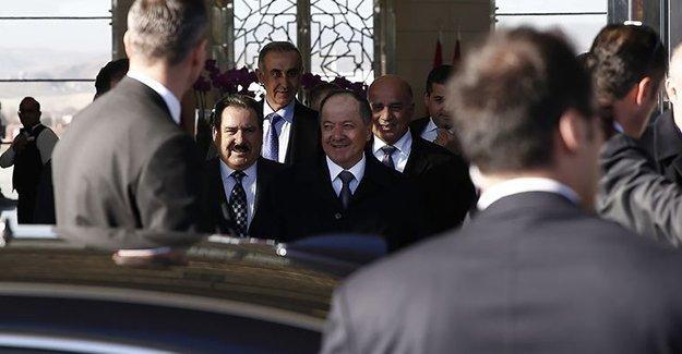 Barzani, Türkiye görüşmelerinin perde arkasını anlattı