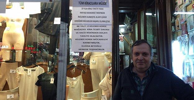 Beyoğlu'nun en eski dükkanı Kelebek Korse kapanıyor