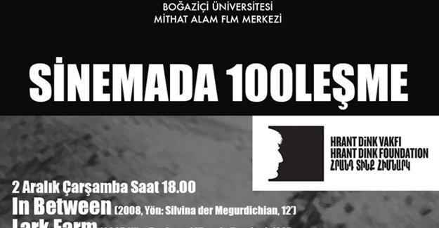 """Boğaziçi Üniversitesi'nde """"Sinemada 100leşme"""" günleri devam ediyor"""