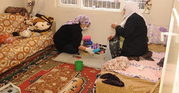 Diyarbakır Belediyesi'den yaşlılara evde bakım hizmeti