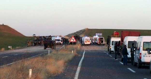 Diyarbakır'da zırhlı araca saldırı: Üç polis hayatını kaybetti