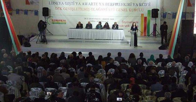 DTK kongresi olağanüstü toplandı
