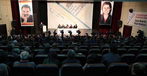 DTK olağanüstü kongresi, 'özyönetim' gündemiyle toplanıyor