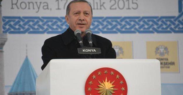 Erdoğan: Açtığınız hendeklerde yok olacaksınız