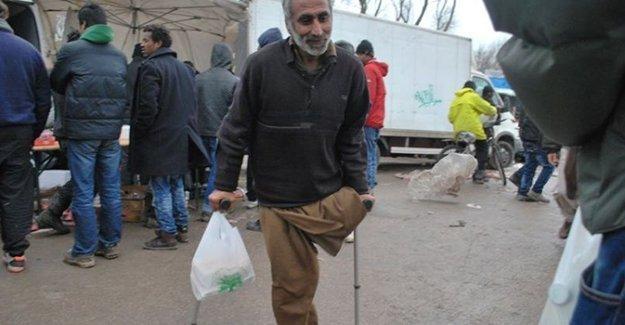 Fransa'daki kampta insanlık dışı manzaralar